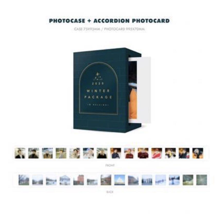 [WTB/LF] BTS 2020 Winter Package w/o Mini Photobook