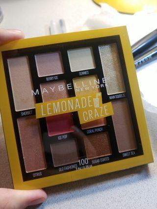Maybelline lemonade craze eyeshadow palley