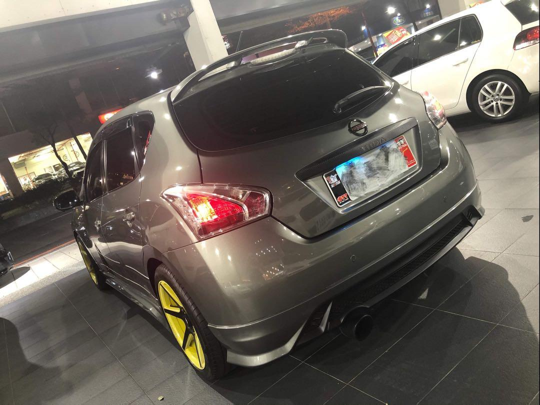 2013 Nissan Tiida 5D 灰