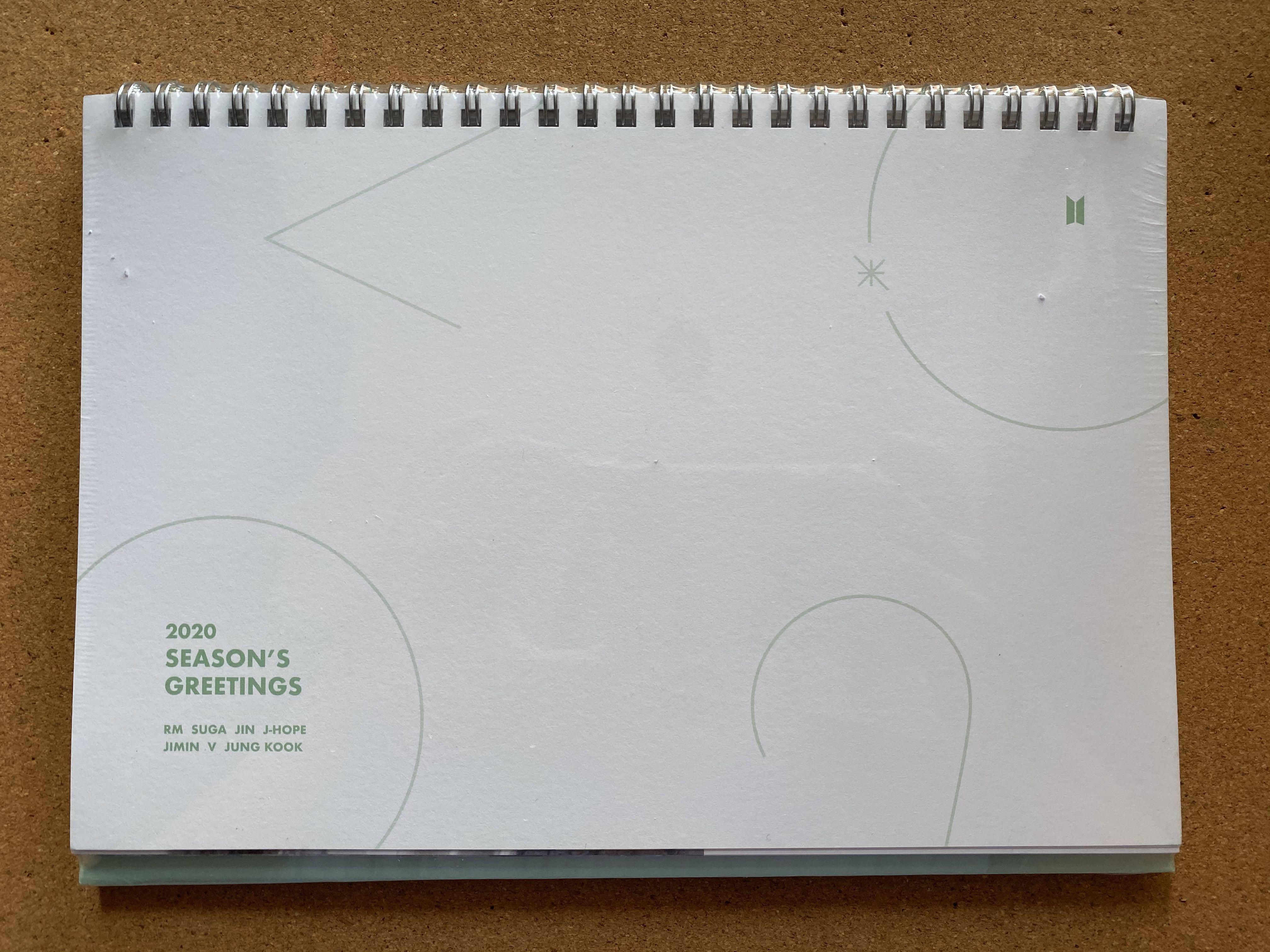 [ WTS ] BTS' 2020 Season's Greeting - Desk Calendar