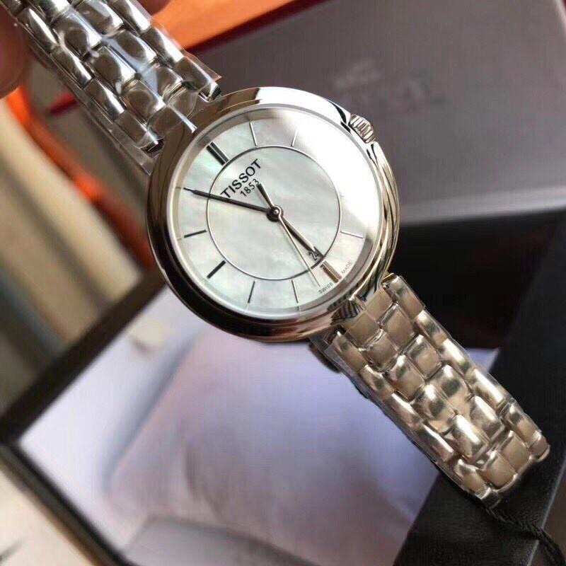 AUTHENTIC Tissot Flamingo Mother of Pearl Dial Ladies Watch T094.210.11.111.00
