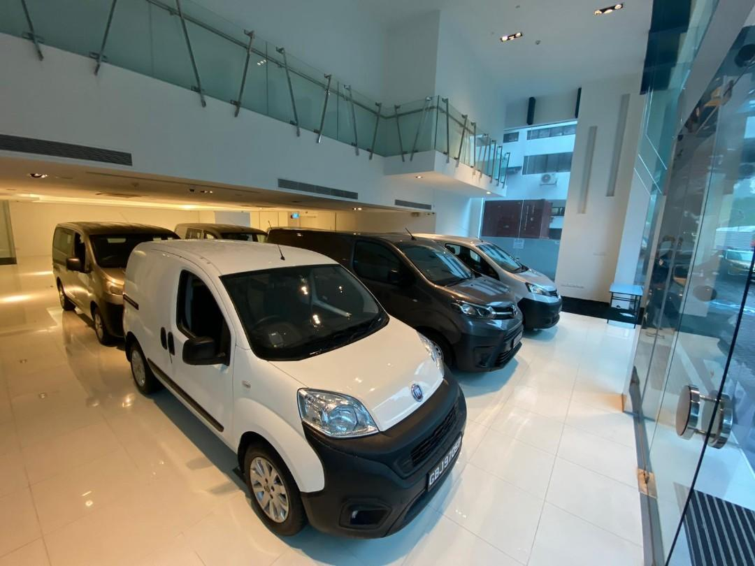 BRAND NEW TOYOTA AND NISSAN VANS AND LORRIES FOR RENT