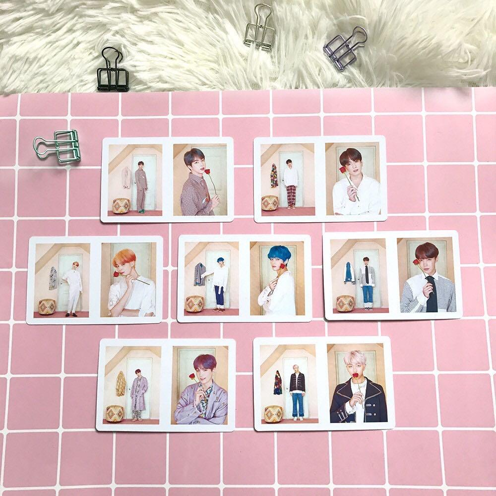 BTS Map of the Soul Persona 54 Pieces High Quality Lomo Cards / Photocard / Polaroid/ PC