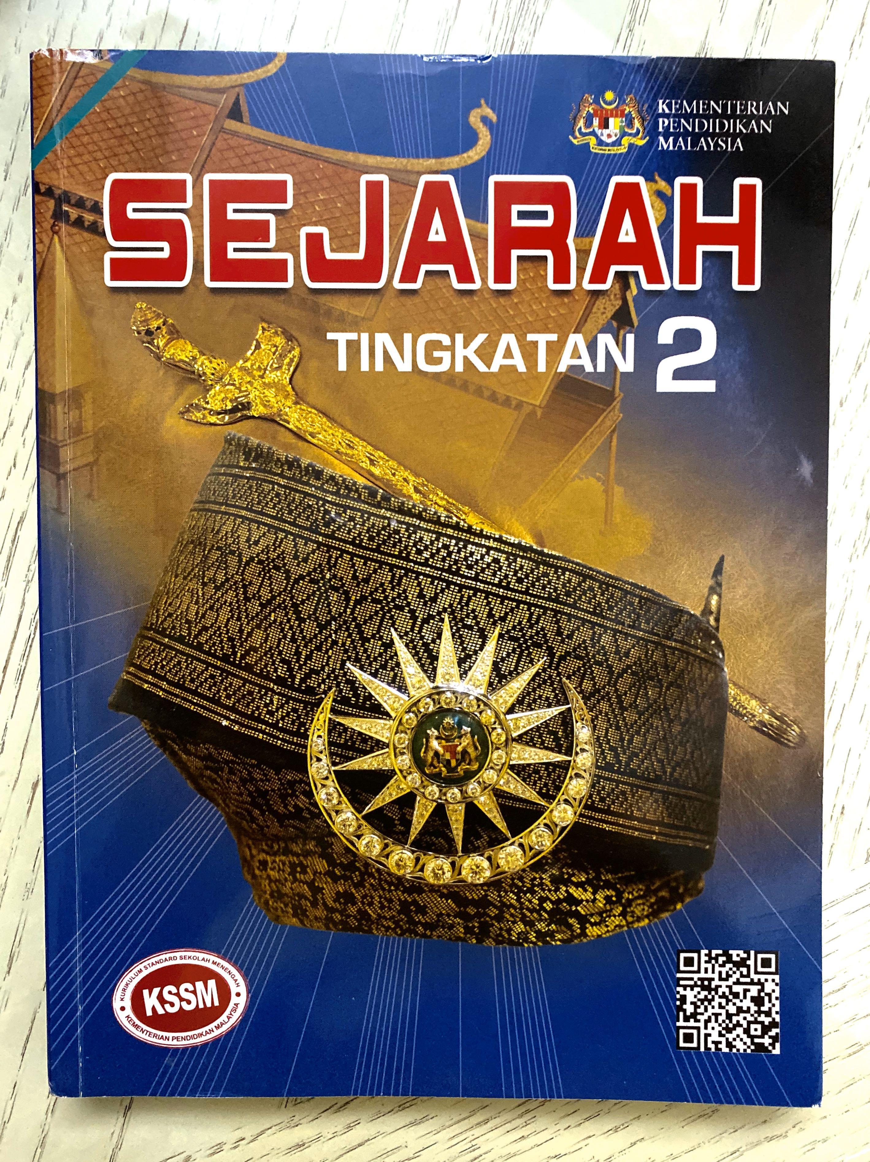 Buku Teks Sejarah Tingkatan 2 Kssm Textbooks On Carousell