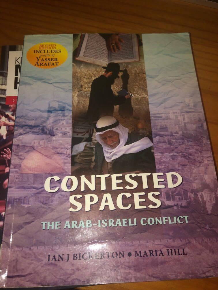 Contested Spaces - The Arab-Israeli Conflict (Nelson)