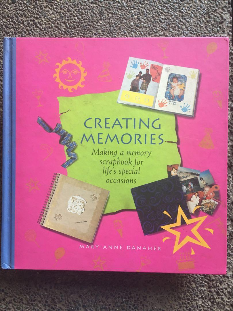 Creating Memories (making a memory scrapbook) by Mary-Anne Danaher