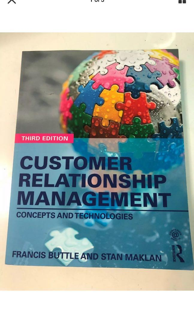Customer Relationship Management: Concepts and Technologies by Buttle And Maklan