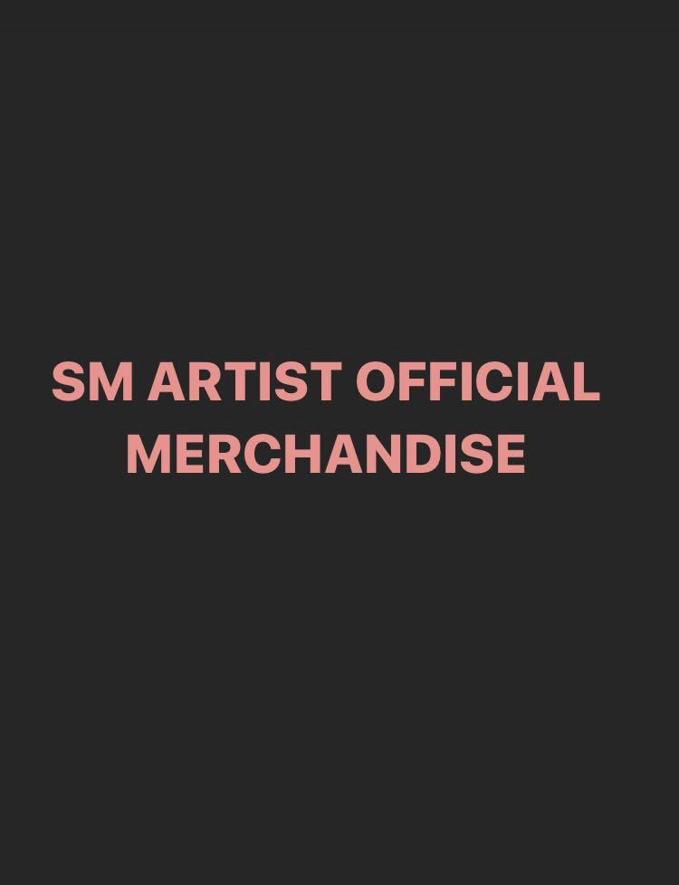 EXO, NCT, RED VELVET, SUPER JUNIOR, SUPERM, SHINEE, TVXQ ETC OFFICIAL MERCHANDISE