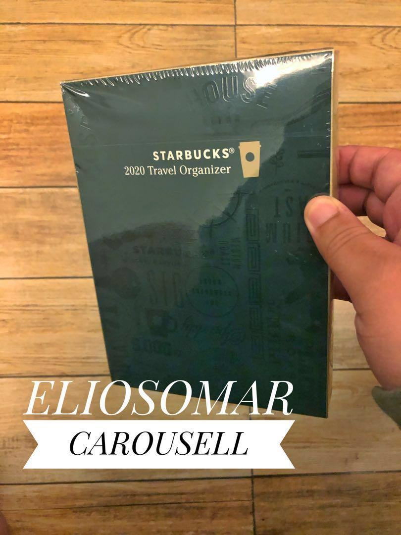 FOR SALE RUSH STARBUCKS Travel Organizer (SEALED COFFEE BROWN)