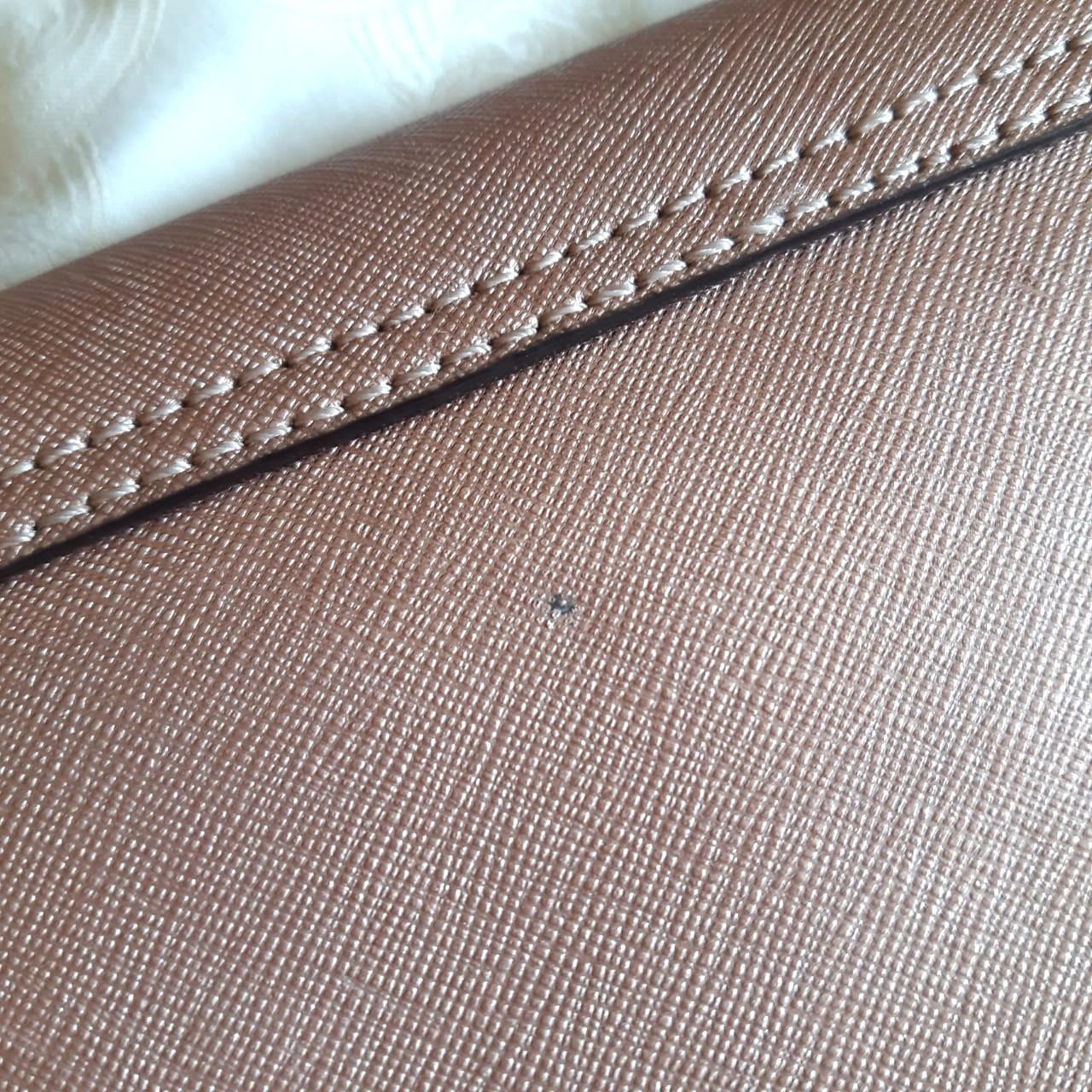 Kate Spade Rose gold saffiano Sally Newbury Lane Small crossbody bag ORIGINAL from store (preloved clean)