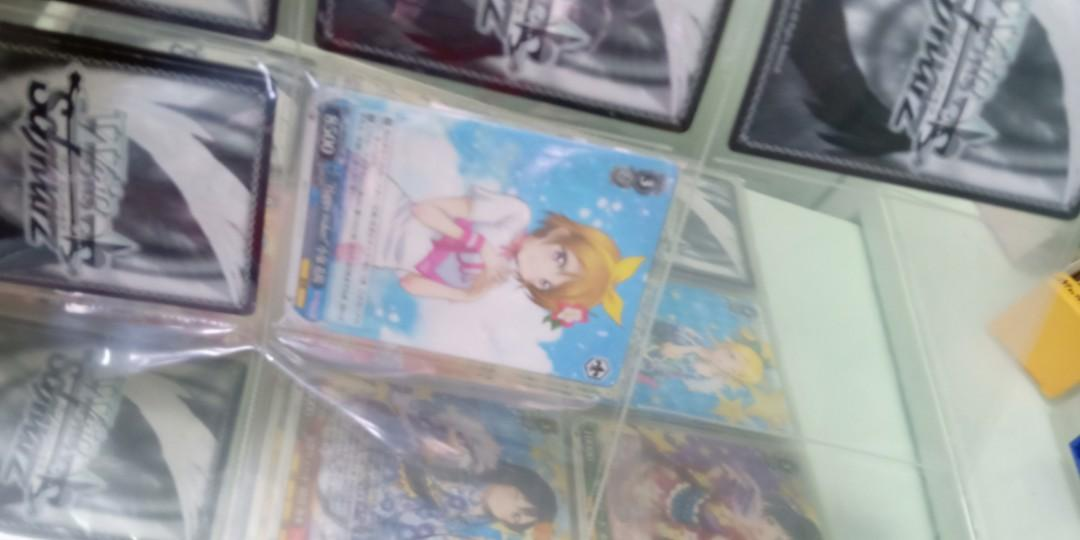 lovelive ws card