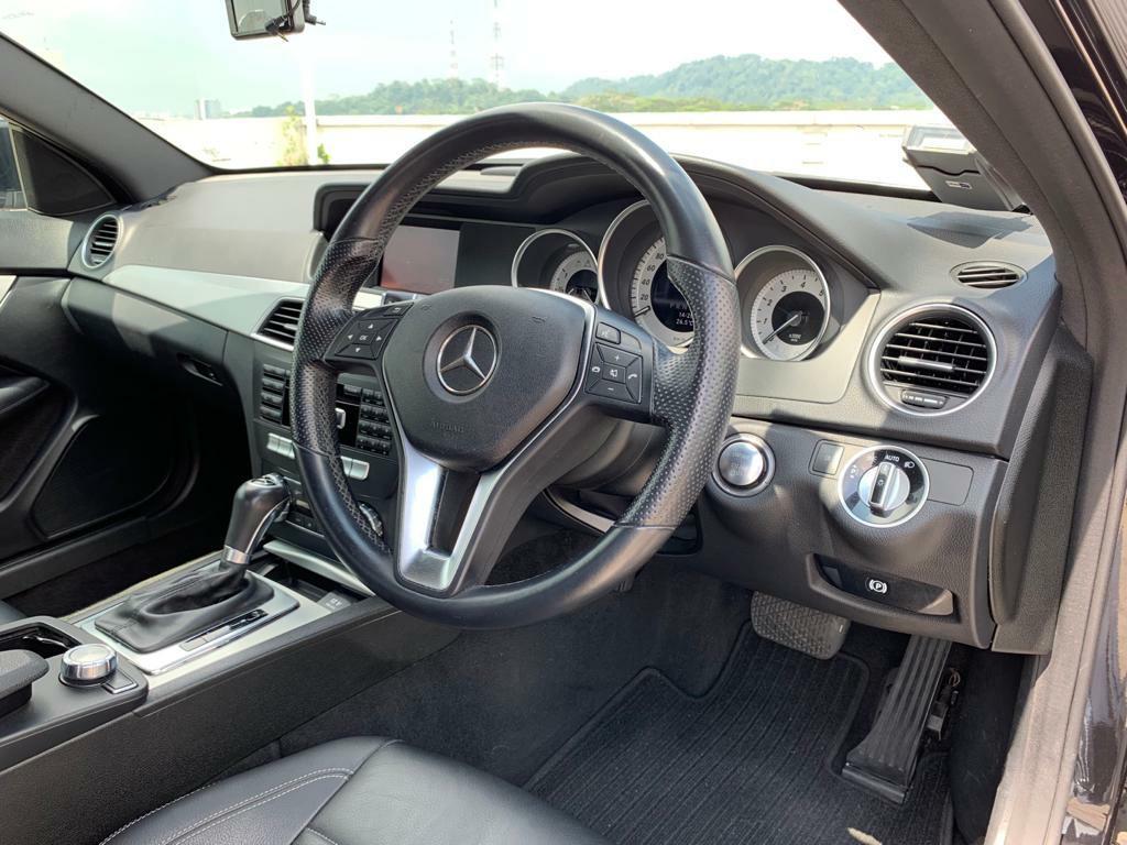 Mercedes-Benz C180 Coupe BlueEfficiency HID Auto
