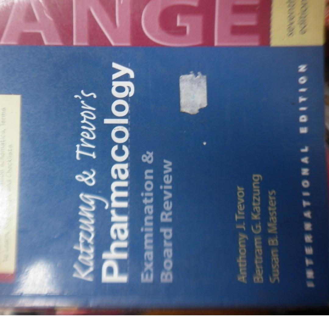 Pharmacology Examination and Board review 7th edition Medicine book / Open for swap  android phone