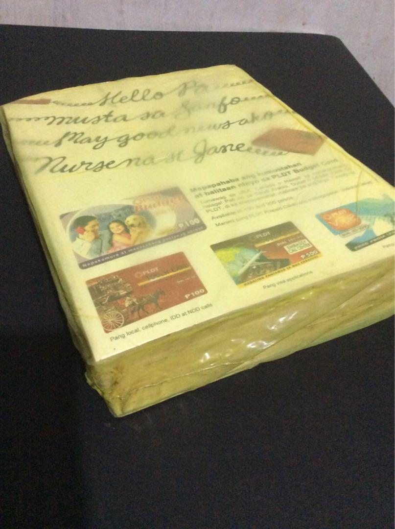 PLDT Yellow Pages set with Pres. Cory in front! year 2009 /SEALED!