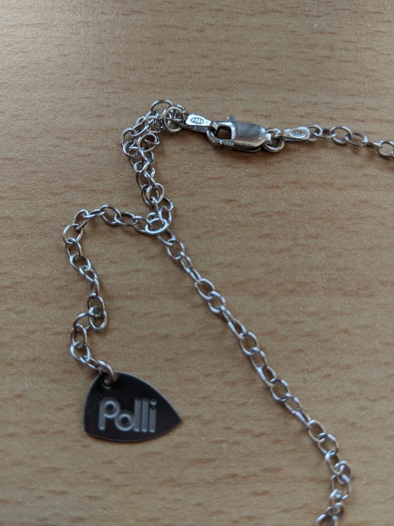 Polli Sustainable Silver Hand Made Pendant Necklaces