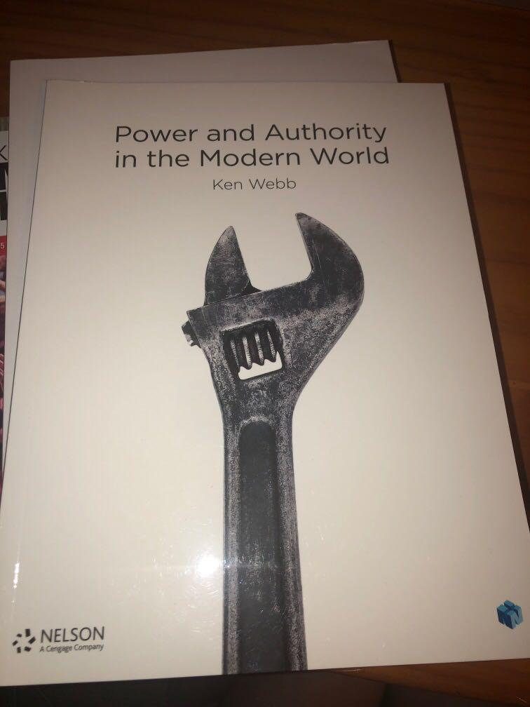 Power and Authority in the Modern World - Ken Webb