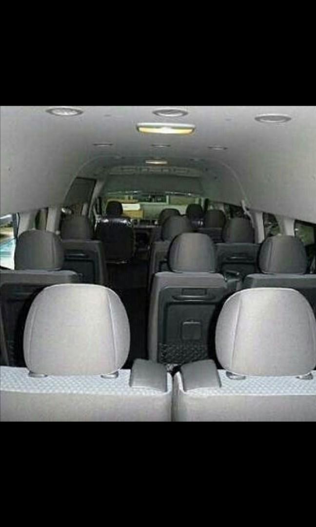 Rental Van Toyota Hiace Batam Full Day WA +628127744109