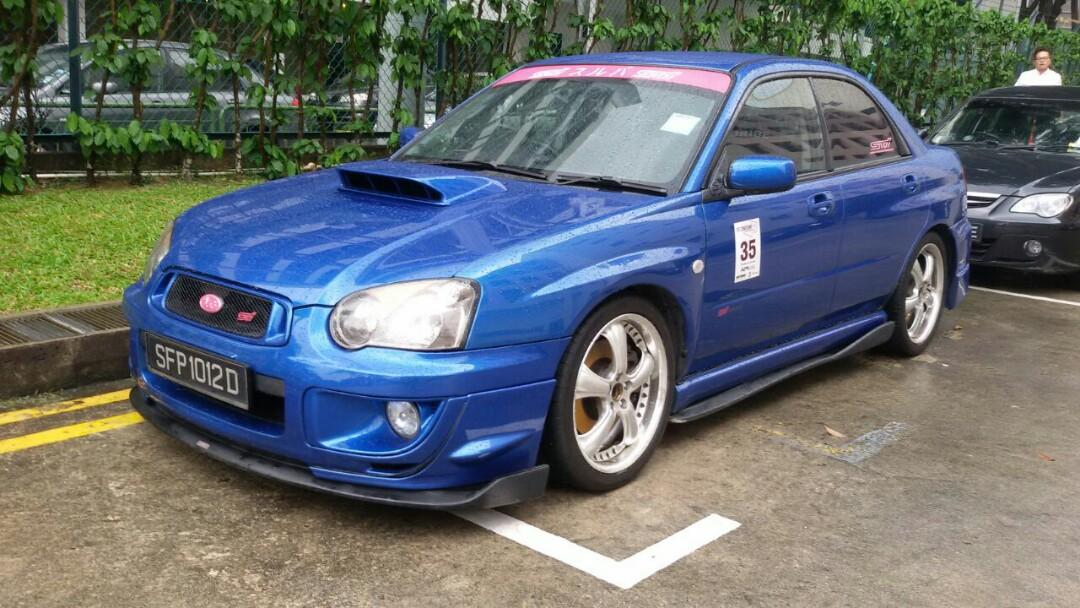 Subaru Impreza WRX 2.5 STI (M)