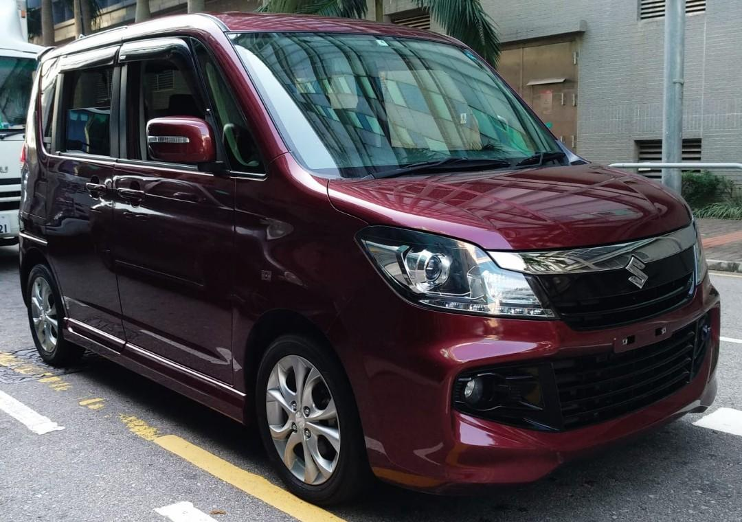 SUZUKI SOLIO BANDIT IDLING STOP PREMIER SELECTION 2013 LIMITED RED