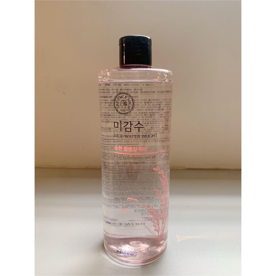 The Face Shop Rice Water Bright Mild Cleansing Water