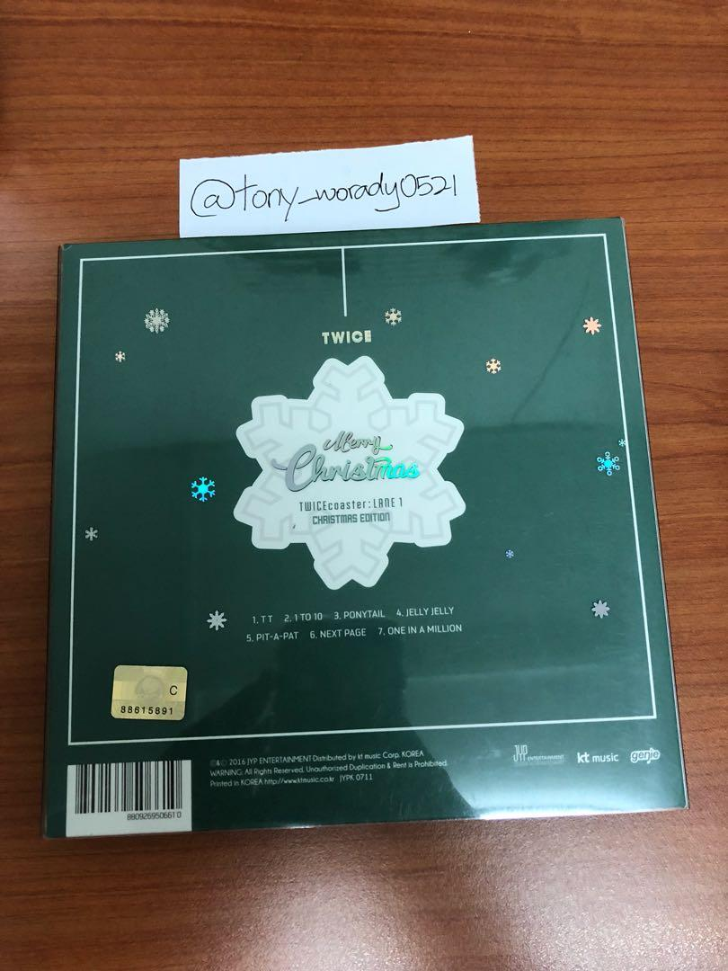 TWICECOASTER Lane: 1 Christmas Edition (Limited Edition)