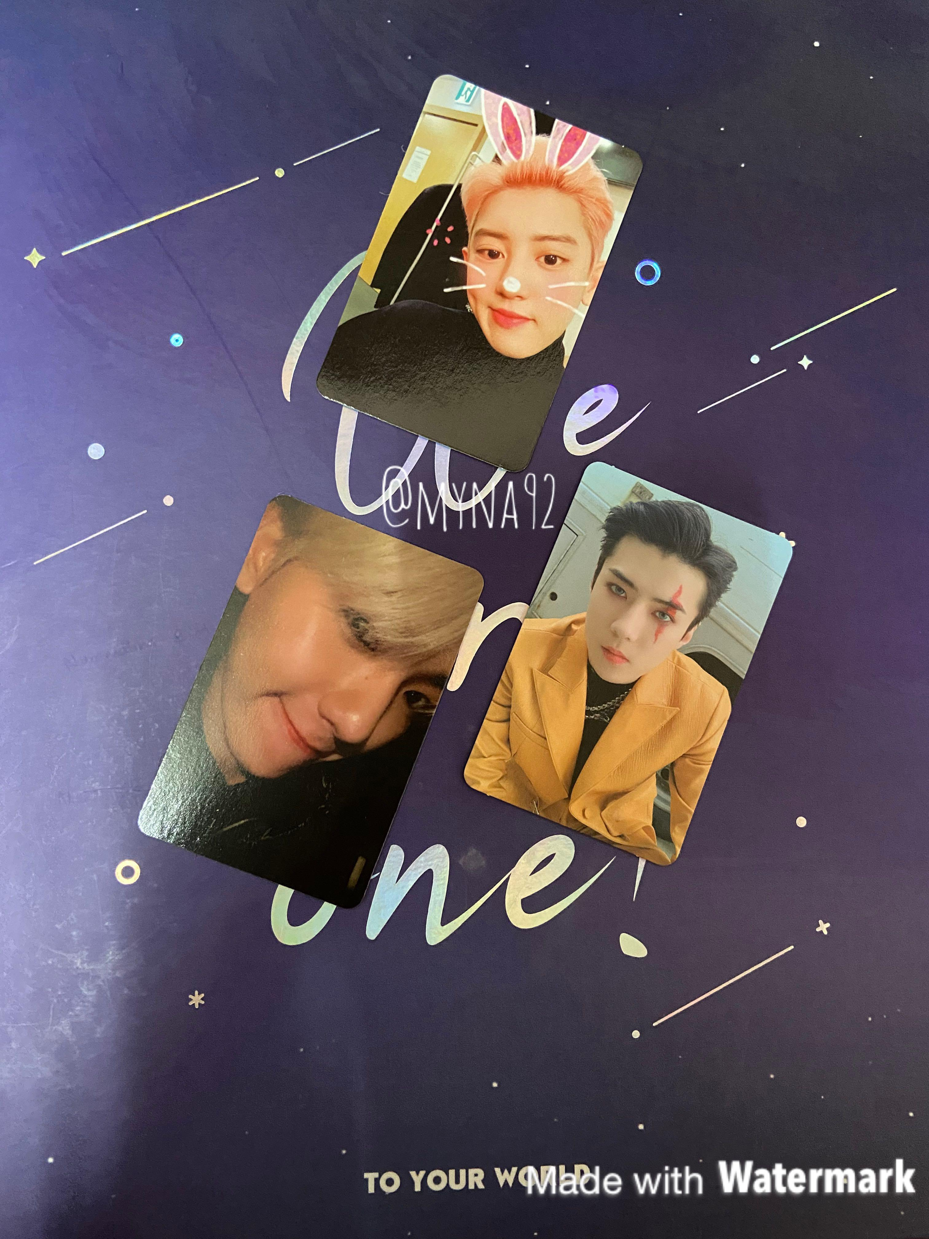 What to Trade  Have: X EXO ver Sehun, EXO ver Baekhyun, Obsession ver Chanyeol