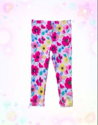 Juicy Couture stylish floral leggings