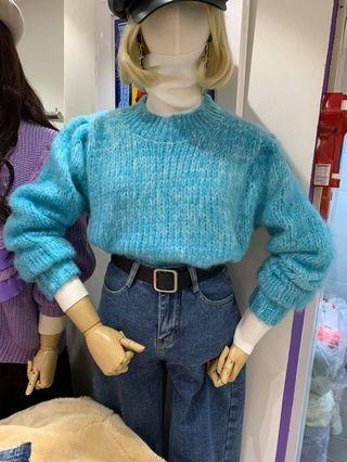 #正韓🇰🇷轉售自Lamocha雪花混色針織毛衣