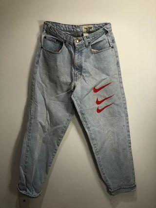 Eddie Bauer customized jeans