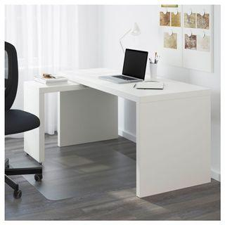 IKEA MALM Desk with Pullout Pannel