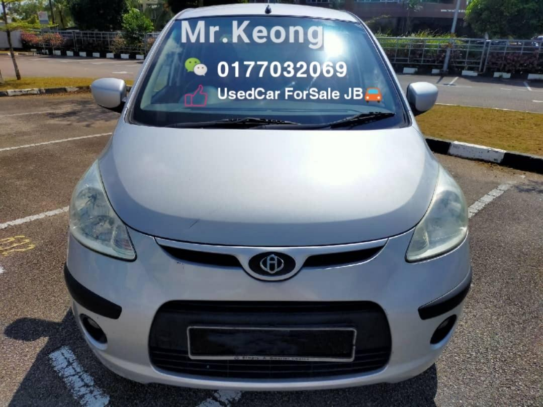 2008TH🚘HYUNDAI I10 1.0AT JUAL CASH SHJ Rm8800 Only🎉LowestPrice InJB‼Call📲KeongForMore🤗