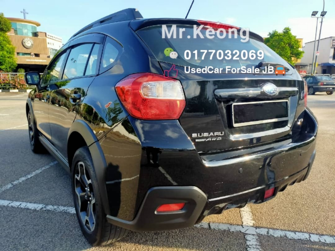 2015TH🎉SUBARU XV 2.0AT SUV FULL SPEC AWD Low MILEAGE 8XXXXKM Cash💲OfferPrice🎉 Rm55,500 Only⚠️Lowest Price InJB 🎉Call📲 KeongForMore‼🤗