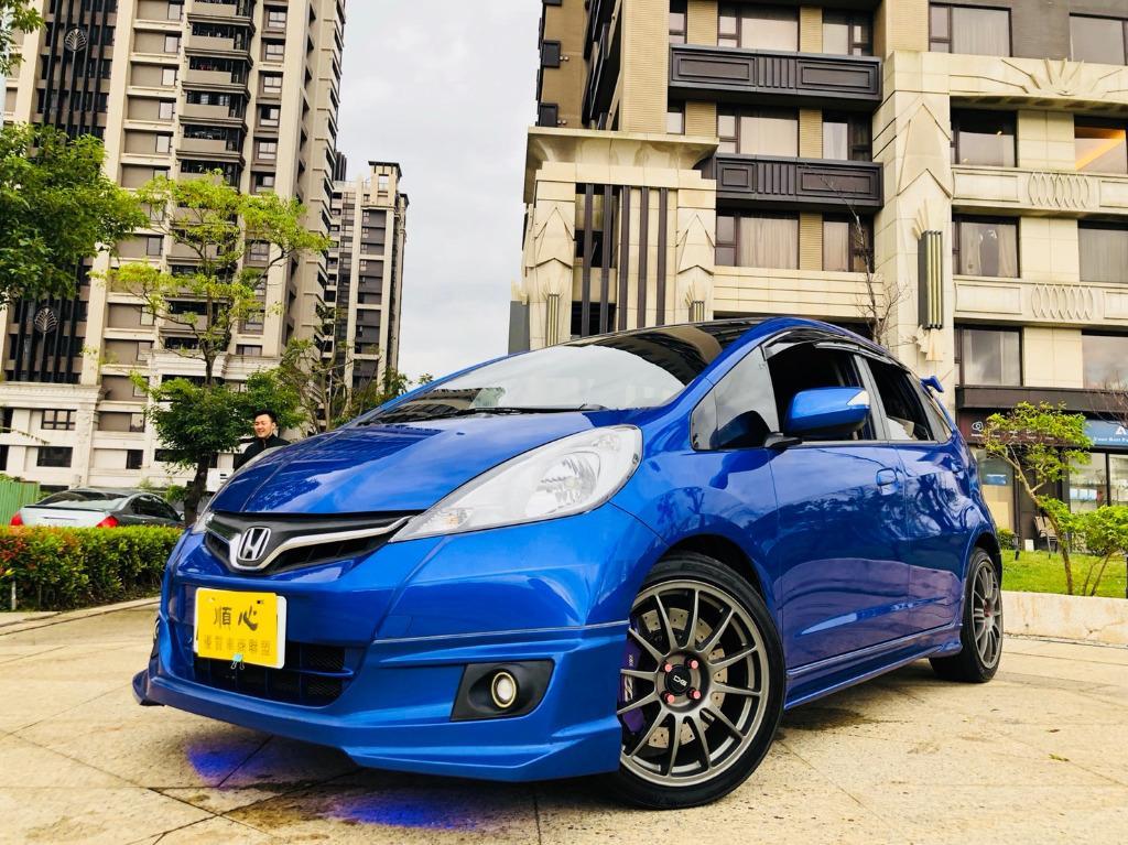 中古車 二手車 本田FIT 藍色