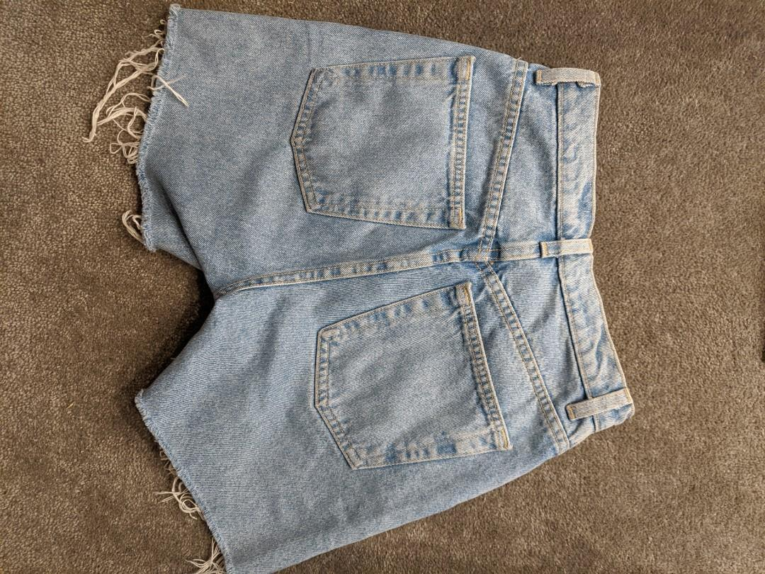 American Apparel High Waisted Jeans Shorts (incl. Postage)