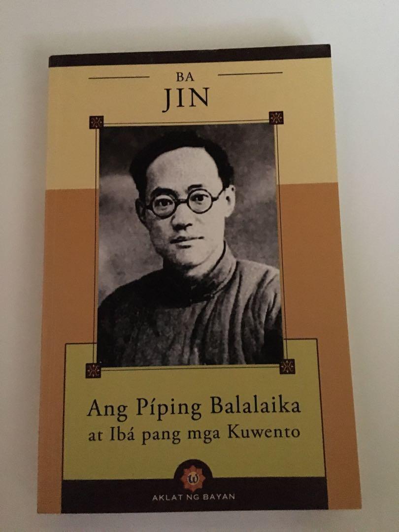 Ang Piping Balalaika at Iba pang mga Kuwento ni Ba Jin (Salin sa Filipino)