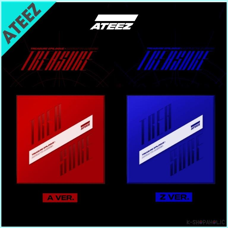 ATEEZ - 4th Mini Album ' TREASURE EPILOGUE : ACTION TO ANSWER '
