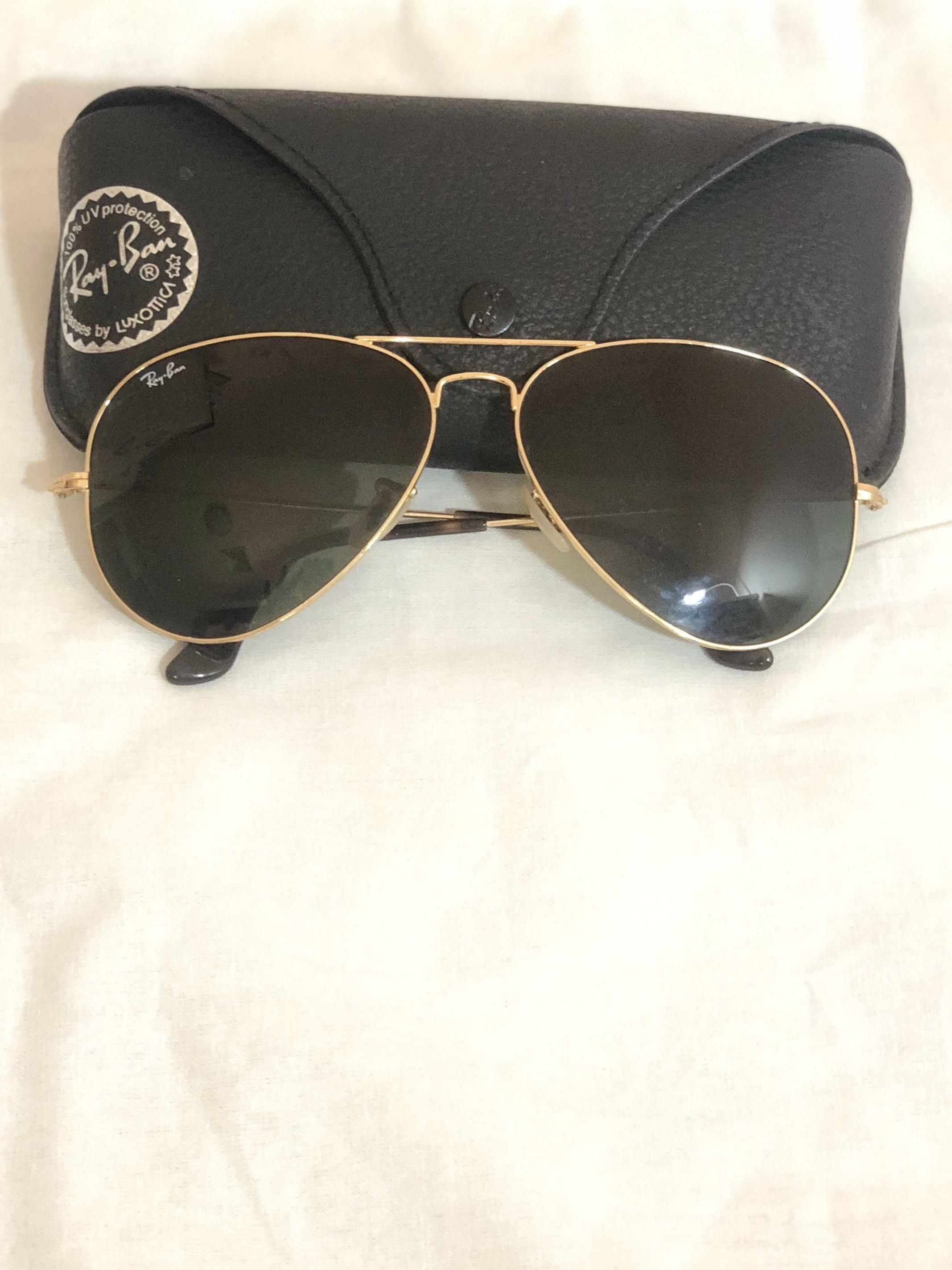 Authentic Ray Bans - unisex - Aviator Large Metal RB3025