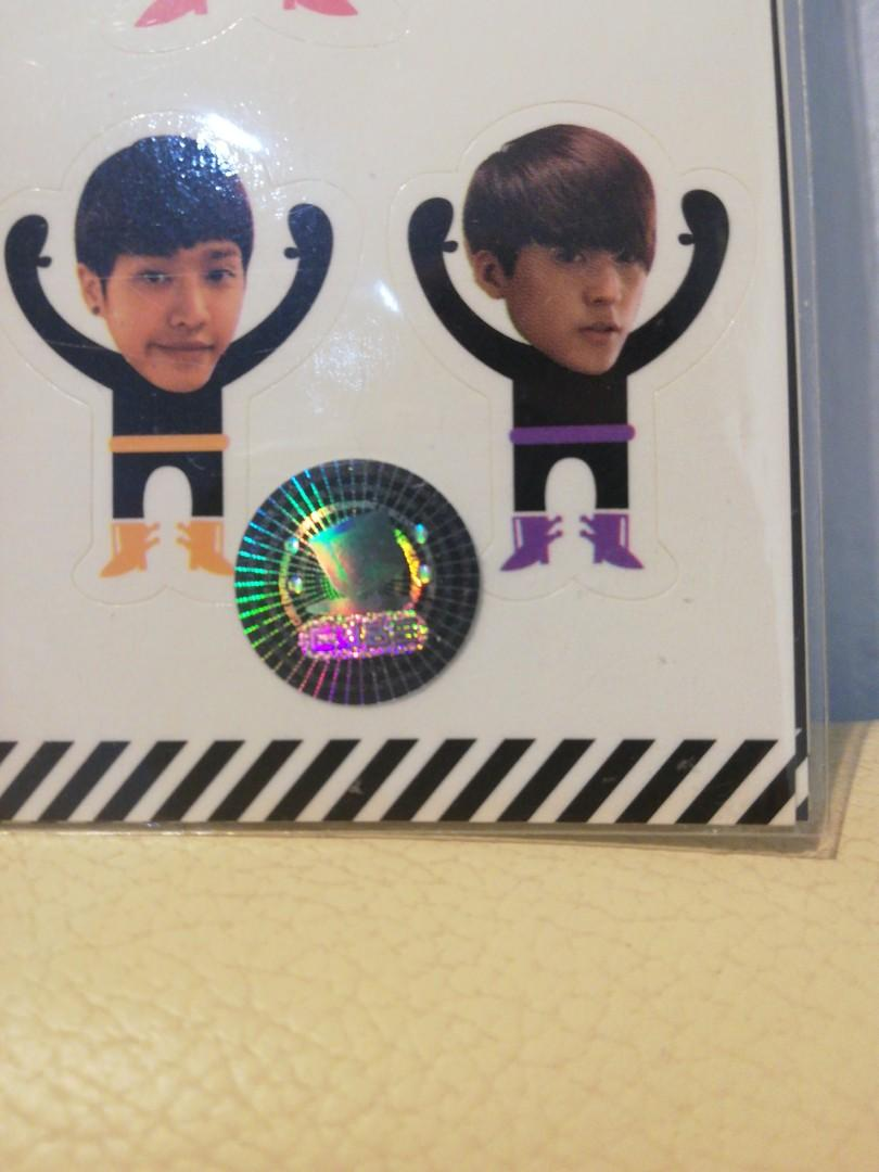 B2ST Official Sticker Merchandise (Authentic) 3 pcs Free Gift included