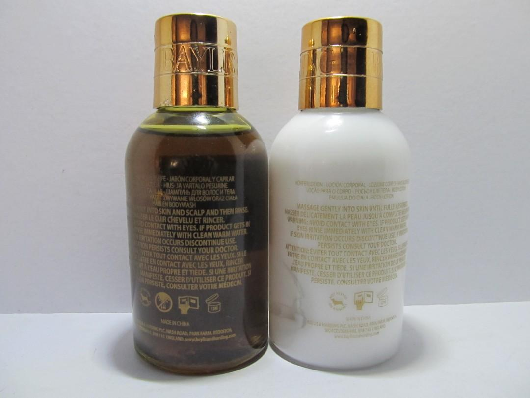 Baylis and Harding England for Men Salt and Pepper Body Wash and Lotion Gift Set
