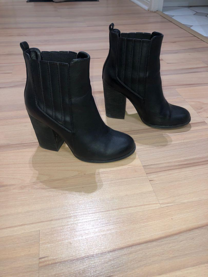 Boots Size 7 Call it spring - black or beige $20 ea