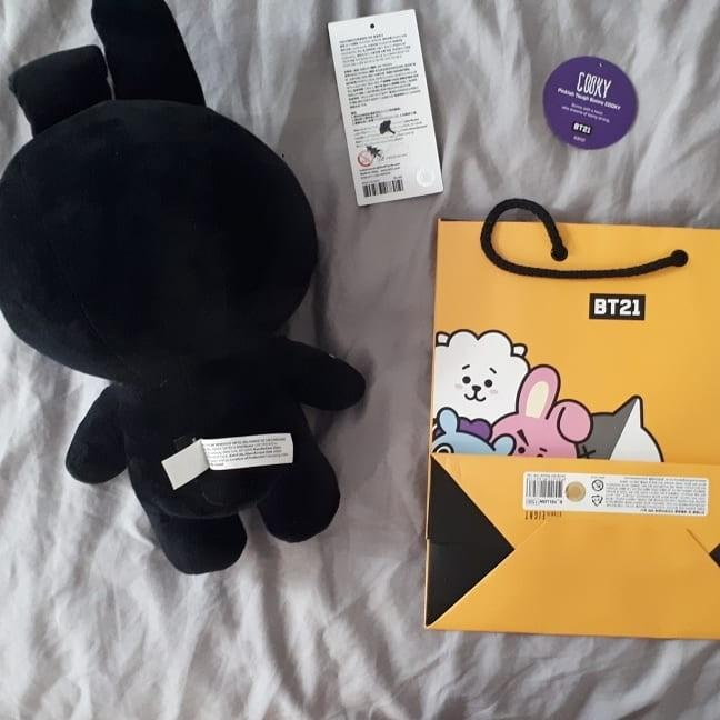 BTS BT21 COOKY Official Halloween Plush Doll (Limited Edition)