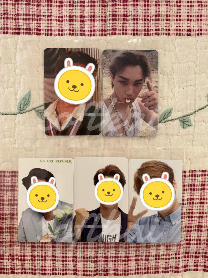 [CLEARANCE] EXO KAI OFFICIAL PHOTOCARDS - UPDATED 29/12