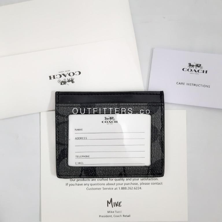 COACH CARD WALLET / COACH CARD HOLDER / COACH WALLET / DOMPET COACH / DOMPET KARTU COACH