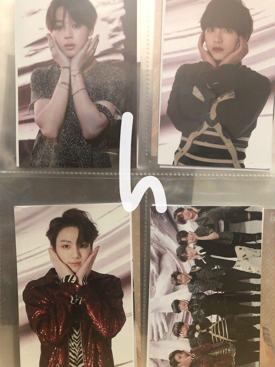 [EMS PREORDER] BTS FAKE LOVE OFFICIAL BROADCAST PHOTOCARD
