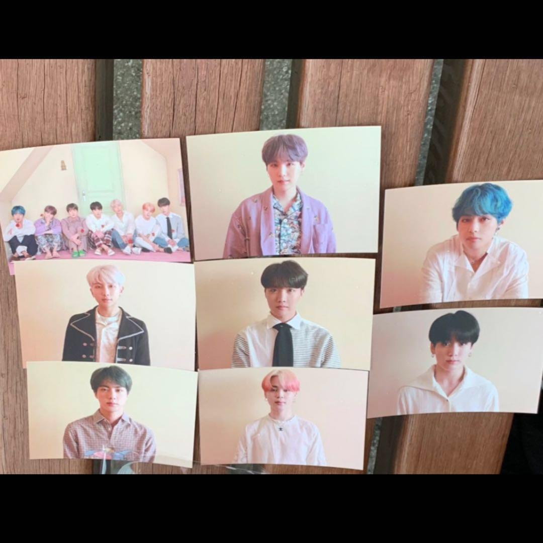 [EMS PREORDER] BTS MAP OF THE SOUL: PERSONA VERSION 2 OFFICIAL BROADCAST PHOTOCARD