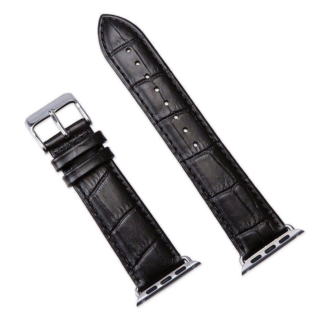 [FREE SHIPPING🔥] Apple Watch Band Crocodile Pattern Leather iWatch 5/4/3/2/1 Watch Straps 38mm 40mm 42mm 44mm