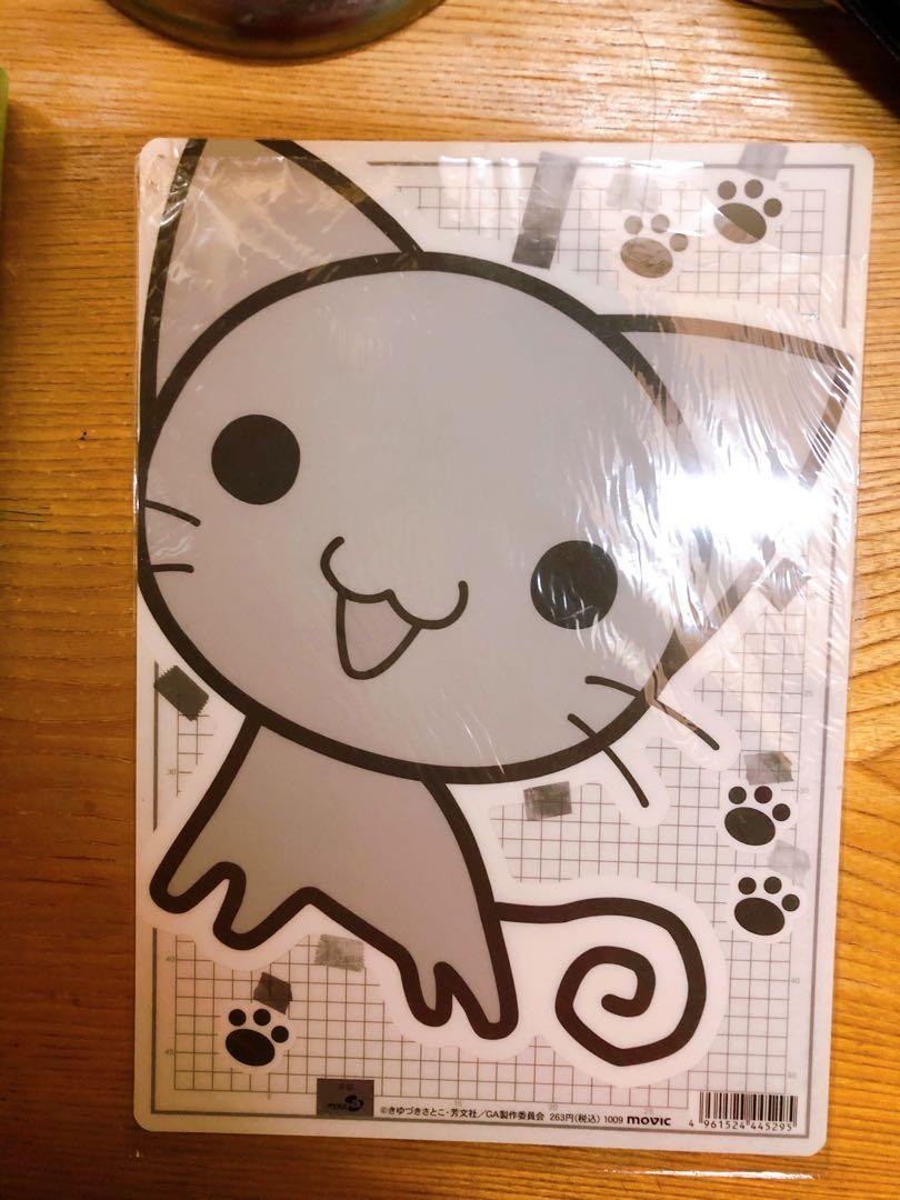 GA Geijutsuka Art Design Class Plastic Sheet #CarousellBelanja