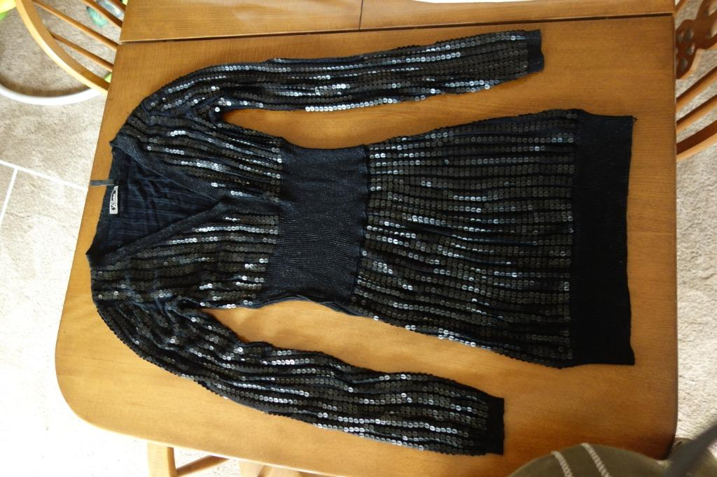 Guess black sequin dress. Large Size. Price Negotiable