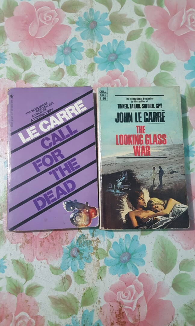 John le Carre books (The Looking Glass War, Call for the Dead)