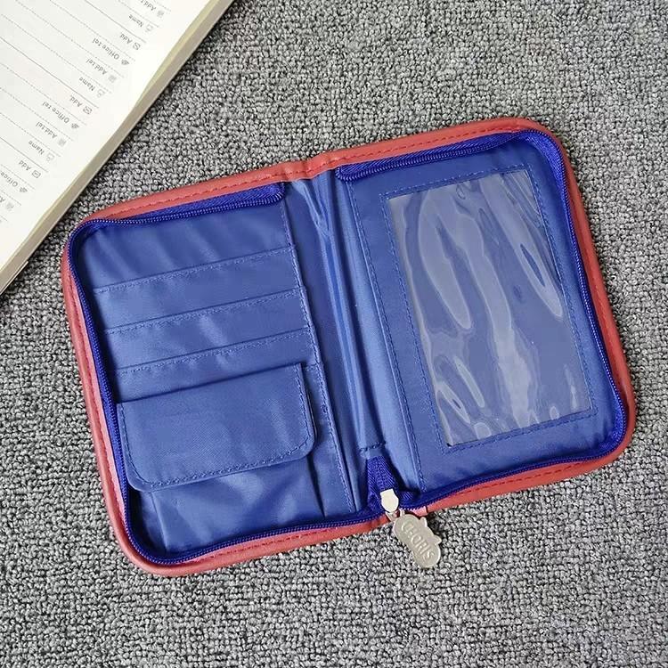 Kippis 日單 可愛小松鼠 旅行護照包多功能機票夾 證件護照收納袋 12*17cm
